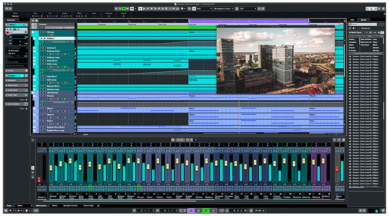 Steinberg Cubase DAW Music Software