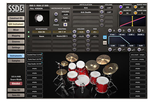 Steven Slate Drums 5 (SSD5) VST Drum Plugin