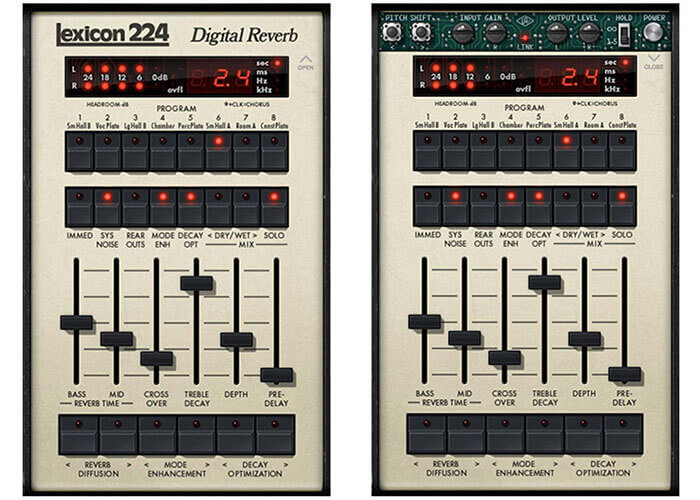 Universal Audio Lexicon 224 Digital Reverb Plugin