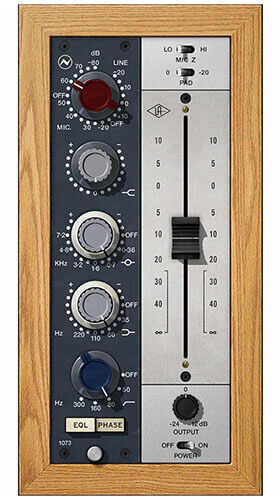 Universal Audio Neve 1073 Preamp and EQ Plugin Collection