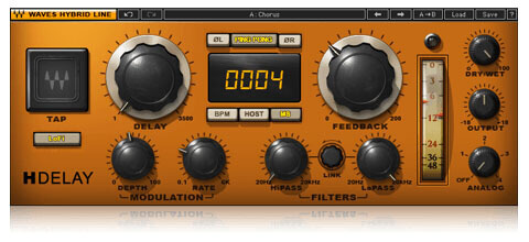 Waves H-Delay Analog Delay Plugin