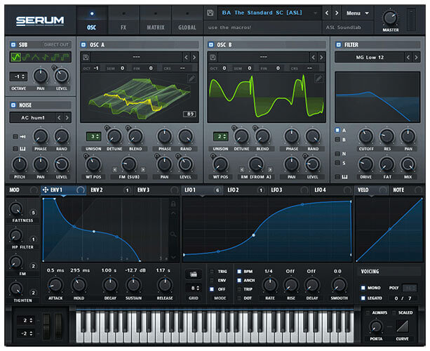 Xfer Records Serum Synthesizer Plugin