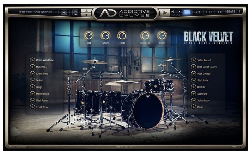 XLN Audio Addictive Drums 2 Drum VST Plugin