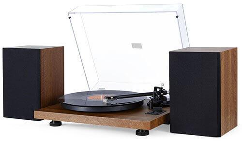 1byone 471NA-0010 Bluetooth Turntable Hi-Fi System