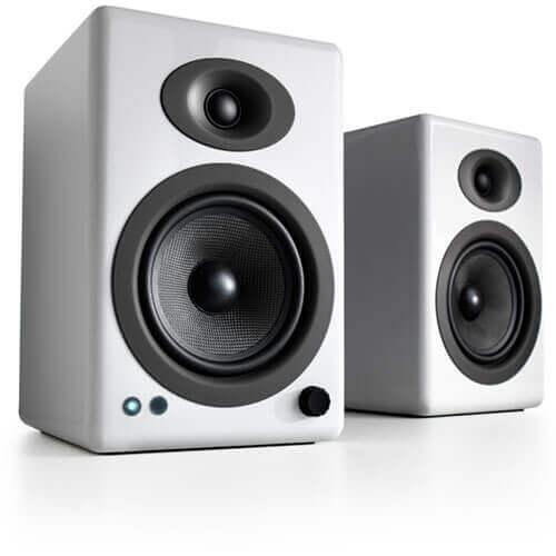 Audioengine A5+ Wireless Powered Bookshelf Speakers