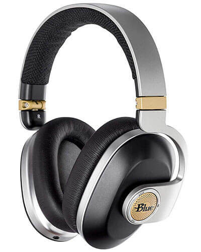 Blue Satellite Wireless Noise-Canceling Headphones (7105)