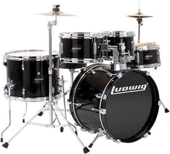 Ludwig LJR1061 5-Piece Junior Drum Kit