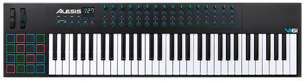 Alesis VI61 61-Key USB MIDI Keyboard Controller