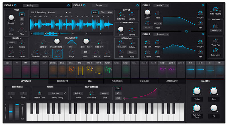 Arturia Pigments 2 Software Synthesizer
