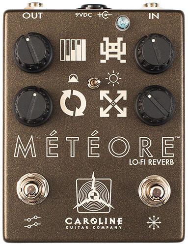 Caroline Guitar Company Meteore Lo-Fi Reverb Guitar Pedal