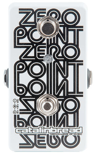 Catalinbread Zero Point Flanger Guitar Effects Pedal