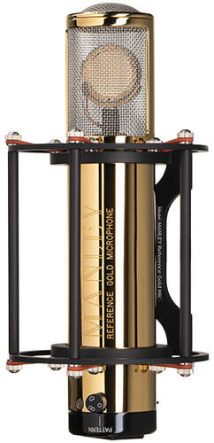 Manley Reference Gold Tube Condenser Microphone
