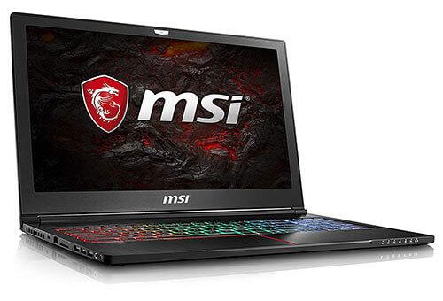 MSI GX63VR Laptop