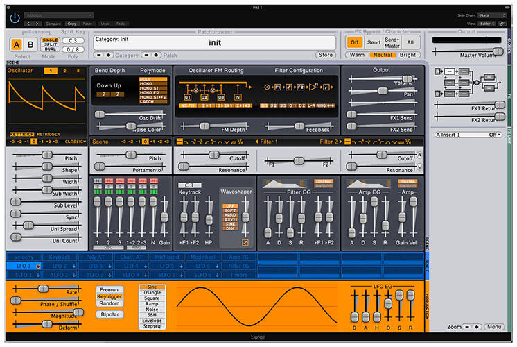 Surge VST Synthesizer Plugin