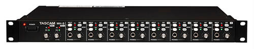 TASCAM MH-8 8-Channel Headphone Amplifier