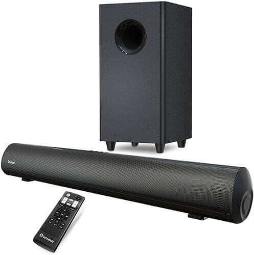 Wohome 30-Inch TV Soundbar with Subwoofer