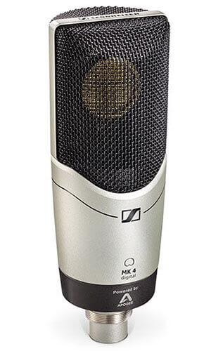 Sennheiser MK 4 digital USB Studio Condenser Microphone