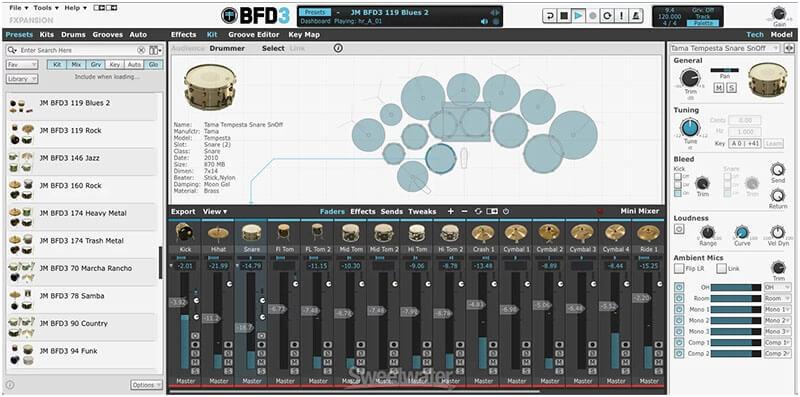 FXpansion BFD3 Drum VST Plugin