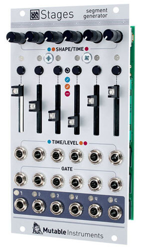 Mutable Instruments Stages the Modulation Construction Set