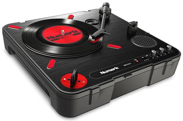 Numark PT01 Scratch Portable Turntable with DJ Scratch Switch