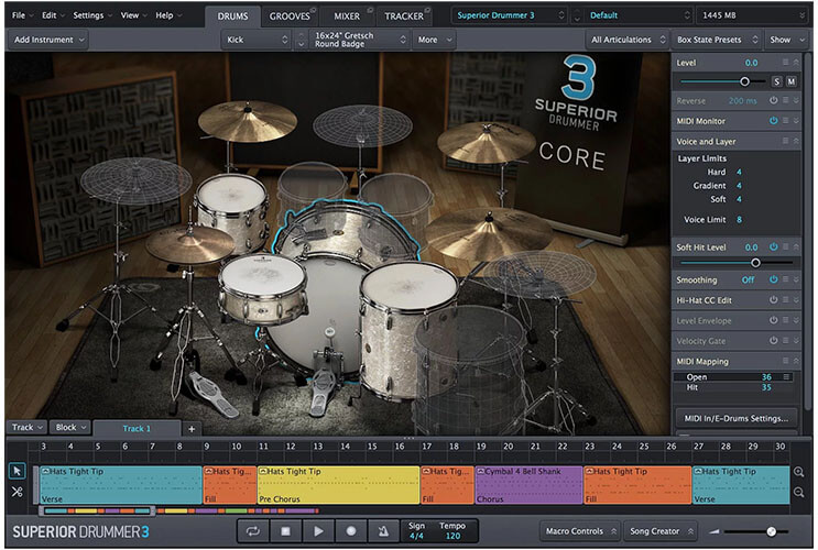 Toontrack Superior Drummer 3 VST Plugin
