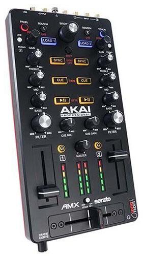 Akai Professional AMX Mixer for Serato DJ