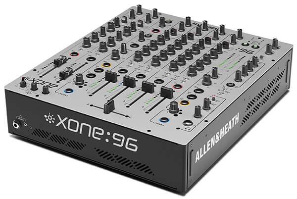 Allen & Heath Xone:96 Analogue DJ Mixer