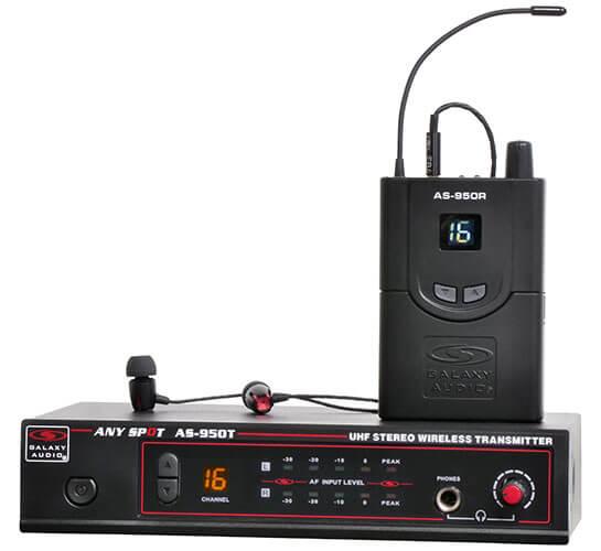 Galaxy Audio AS-950 Wireless In-Ear Monitor System