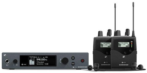 Sennheiser EW IEM G4-TWIN Wireless In-Ear Monitor System