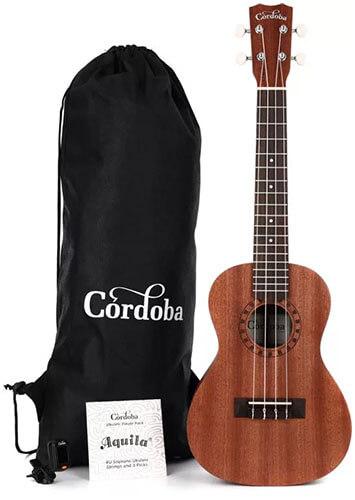 Cordoba Player Pack C Concert Ukulele Starter Kit