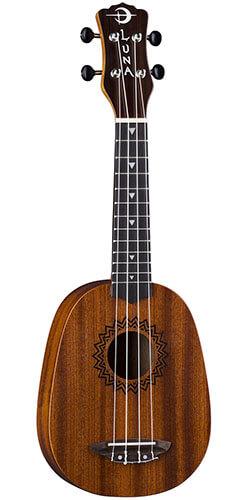 Luna Vintage Mahogany Pineapple (VMP) Soprano Ukulele