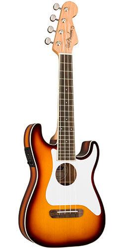 Fender Fullerton Strat Uke Concert Ukulele