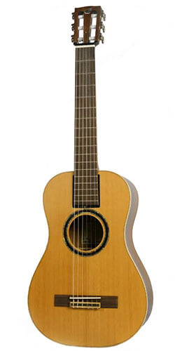 Journey Instruments Overhead OC520 Acoustic-Electric Travel Classical Guitar