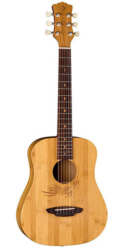 Luna Safari Bamboo Travel Guitar