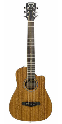 Traveler Guitar Redlands Mini Acoustic Travel Guitar