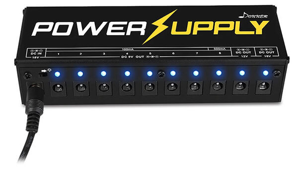 Donner DP-1 Guitar Pedal Power Supply