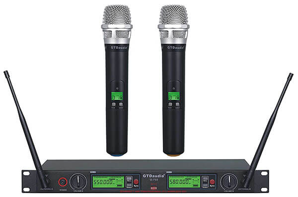 GTD Audio G-733H Wireless Dual Mic System