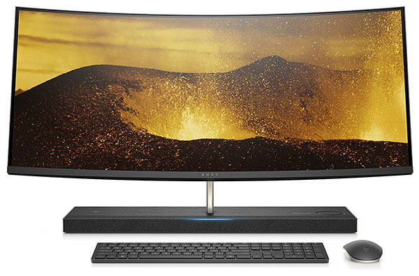 HP Envy 34-Inch Curved All-In-One Computer (34-b110)