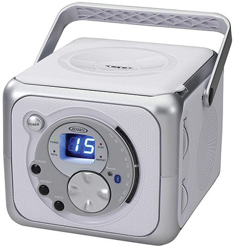 Jensen CD555 Compact Bluetooth Boombox