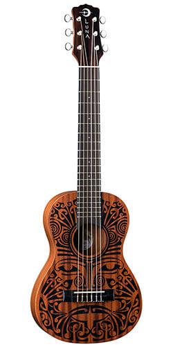 Luna Tribal Mahogany 6-String Baritone Ukulele (UKE TRIBAL 6)