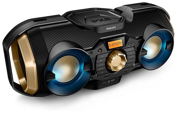 Philips PX840T Bluetooth Boombox Speaker