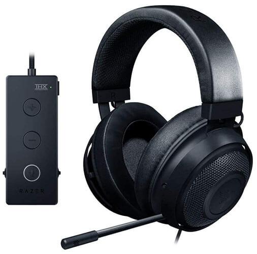 Razer Kraken Tournament Edition Gaming Headset with USB Audio Controller