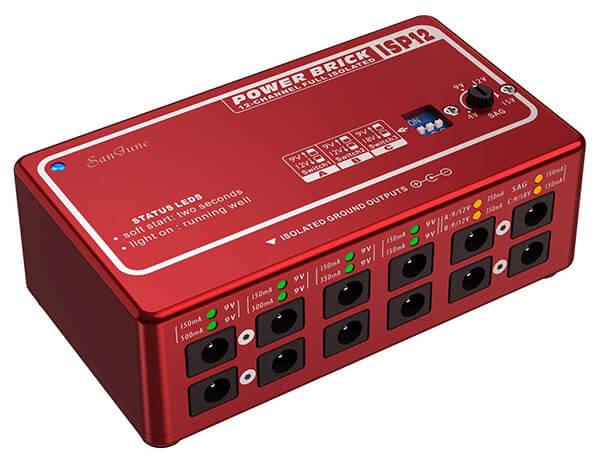 SanJune ISP12 Guitar Pedal Power Supply