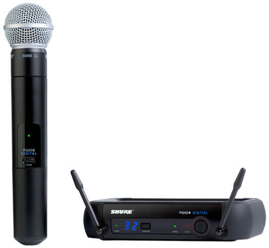 Shure PGXD24/SM58 Handheld Wireless Mic System