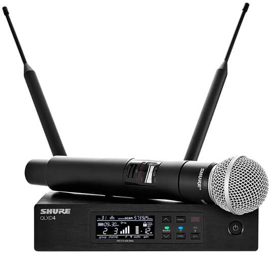 Shure QLXD24/SM58 Wireless Microphone System
