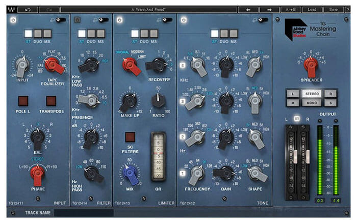 Waves Abbey Road TG Mastering Chain VST Plugin