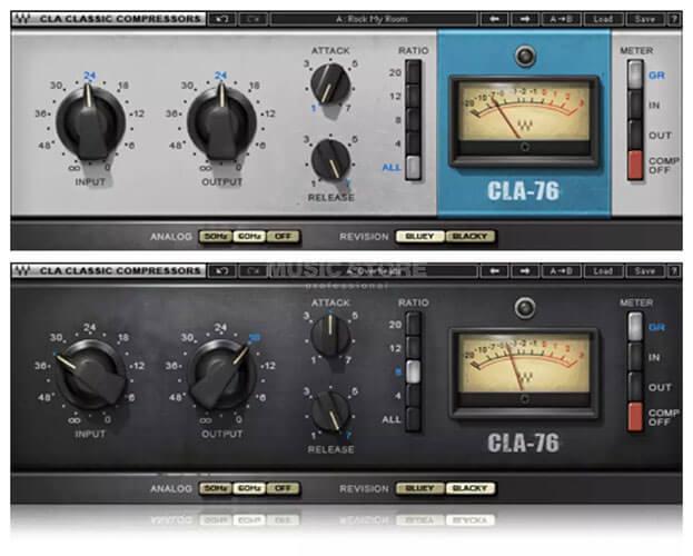 Waves CLA-76 Compressor/Limiter Limiting Amplifier Plugin