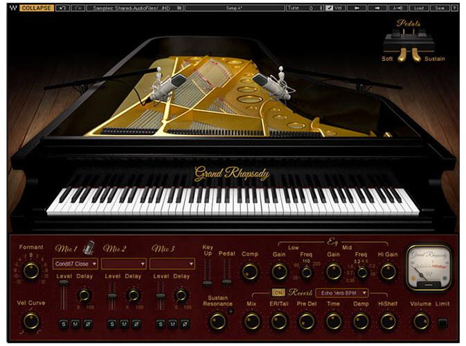 Waves Grand Rhapsody Piano VST Plugin