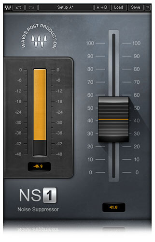 Waves NS1 Noise Suppressor Plugin