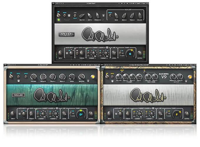 Waves PRS SuperModels Guitar Amp Plugin
